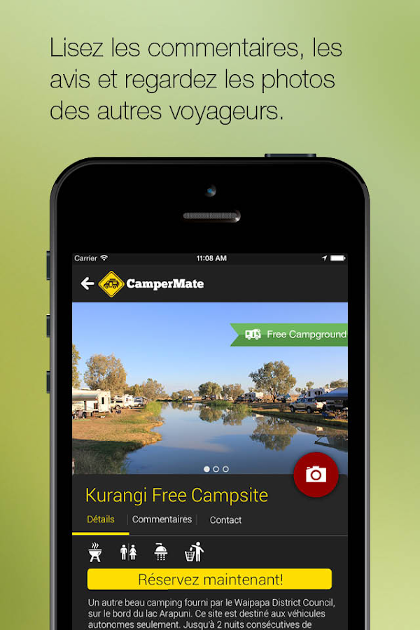CamperMate – Capture d'écran