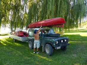 Photo: Grandi carichi di canoe