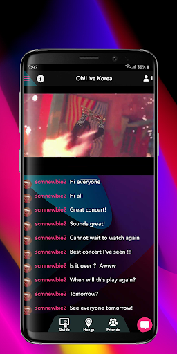 Ohlive - screenshot