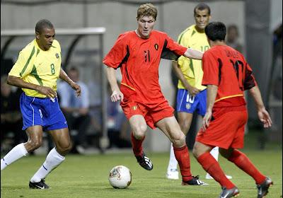 """Le Brésil 2002, dernier match de Gert Verheyen avec les Diables: """"On aurait pu le gagner bon sang"""""""