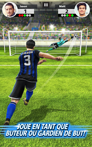 Football Strike - Multiplayer Soccer  captures d'écran 2