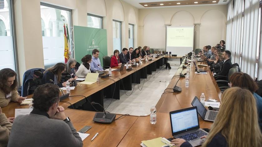 Reunión del grupo de trabajo para impulsar la iniciativa Reinwaste.