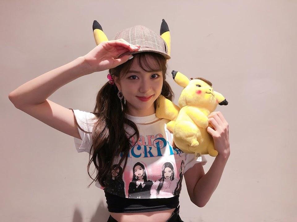 jisoo detective pikachu