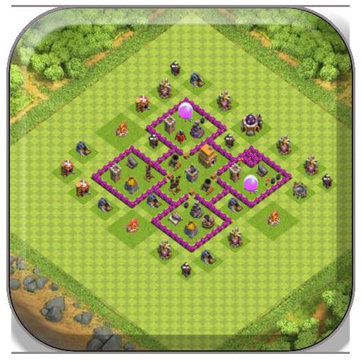 Town Hall 6 Farming Base COC 1.0.1 screenshots 2