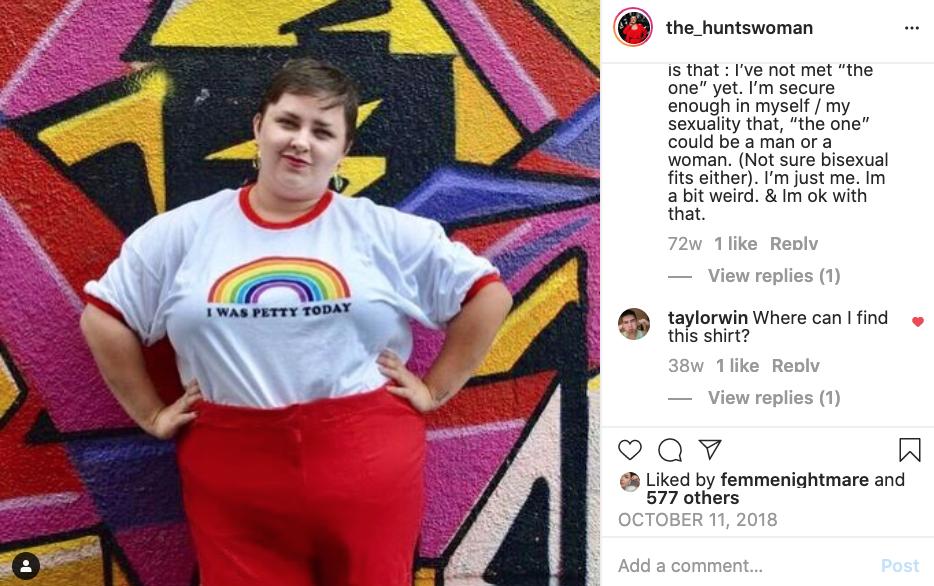 The Huntswoman LGBT Content Creator Brianne Huntsman