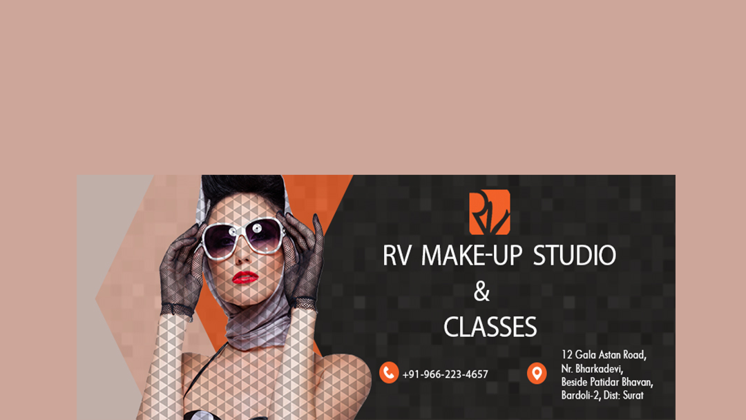 RV Make-Up Studio & Classes - Beauty Salon in Bardoli