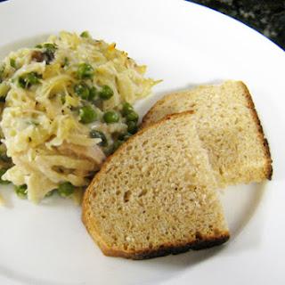 Tuna and Orzo Pasta Casserole.