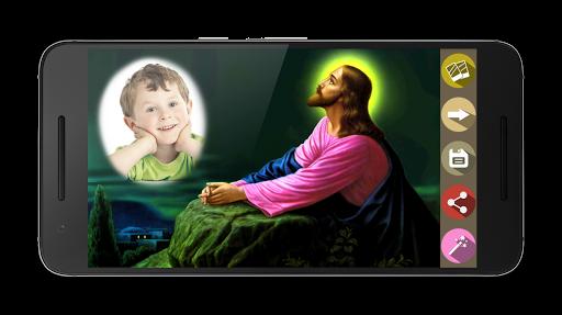 上帝耶稣相框