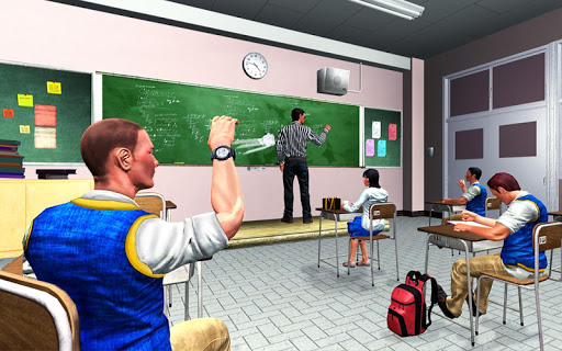 Bully Gang: Free High school Gangster game 1.0 de.gamequotes.net 2