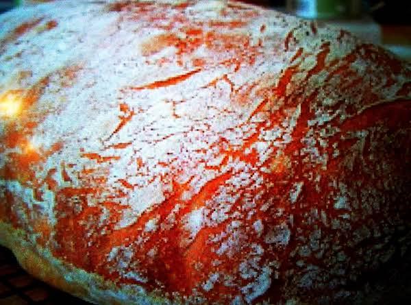 No Knead Ciabatta Bread! Recipe