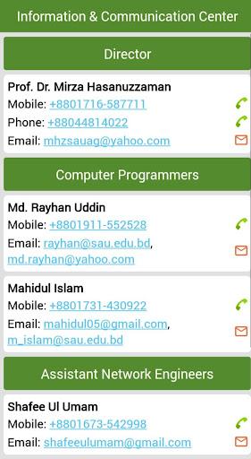 SAU Directory App Report on Mobile Action - App Store Optimization