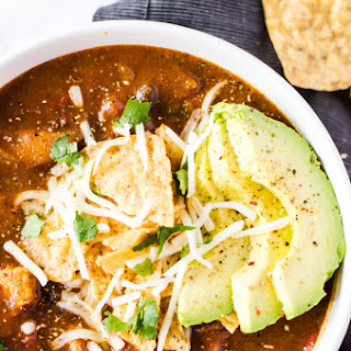 Easy Chicken Enchilada Soup