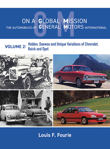 On a Global Mission: The Automobiles of General Motors International Volume 2 cover