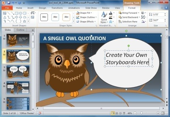 Microsoft Powerpoint software