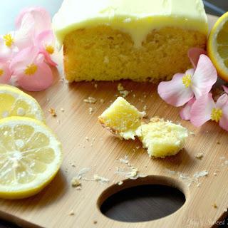 Moist Lemon Cake.