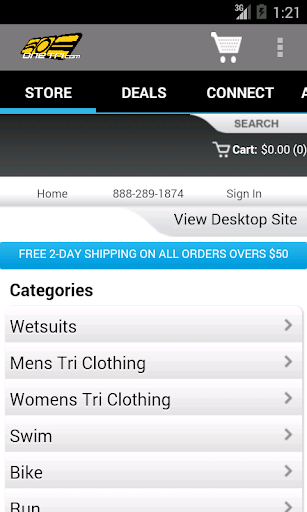 One Tri Store App