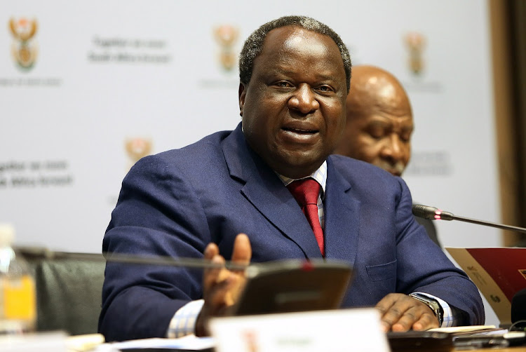 Finance minister Tito Mboweni told his Twitter followers about the mistakes he has made during his many years in politics.