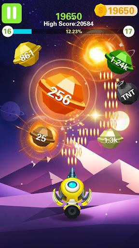 Rock Blast - Fire Ball  captures d'écran 2