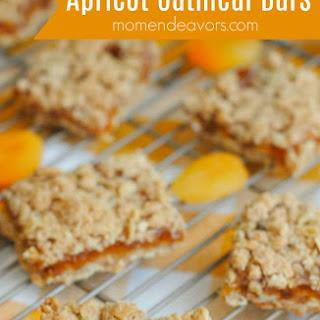 Apricot Oatmeal Bars.
