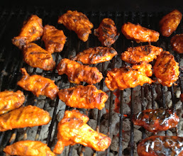 Photo: Just like that, the wings are ready, No need to add any extra sauce. Gorgeous!