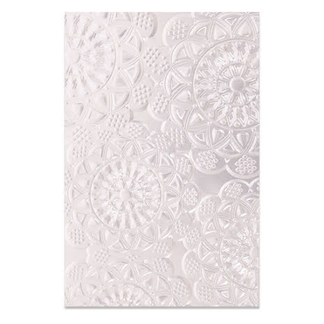 Sizzix 3-D Textured Impressions Embossing Folder - Doily