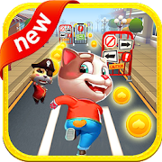 APK Game Tom Cat Pet Run for BB, BlackBerry