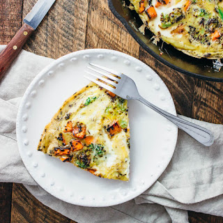 Broccoli And Sweet Potato Frittata With Thyme