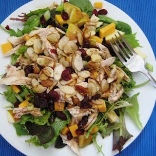 Harvest Salad with Chicken, Apples & Cheddar