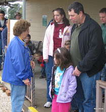 Photo: Viginia Freitag (station master) with daughter Darlene and family.   HALS Run Day 2009-1121