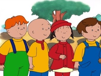 Caillou's Sleepover Guest/Games in the Park/The Sugar Shack/Winter Mystery/Caillou's Snow Day