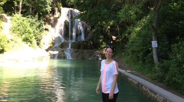Lucky waterfall, Slovakia