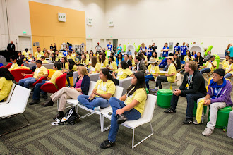 Photo: Where we invited 150 students from 20 local organizations to a half-day program at I/O.