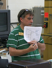 Photo: ...shown here by Tim as a scale drawing.  MCW is happy to be invited to continue its affiliation with the Woodworkers Club in its new location.
