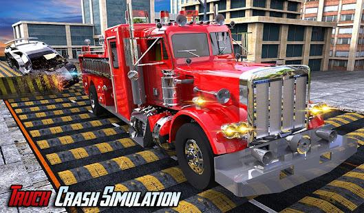 Feuerwehrmann LKW: Bodenschwelle Autounfall Test – Apps bei Google Play