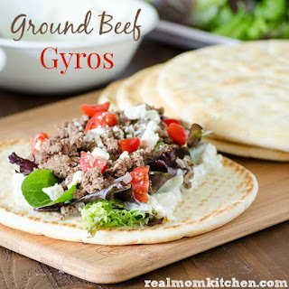 Ground Beef Gyros.