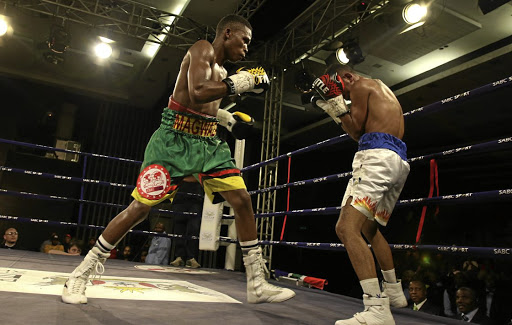 Mzuvukile Magwaca, in past action , won again on Friday.