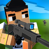 Pixel Shooter - the block sniper battle