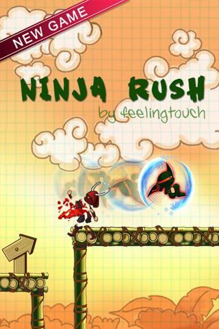 Ninja Rush HD screenshot 3