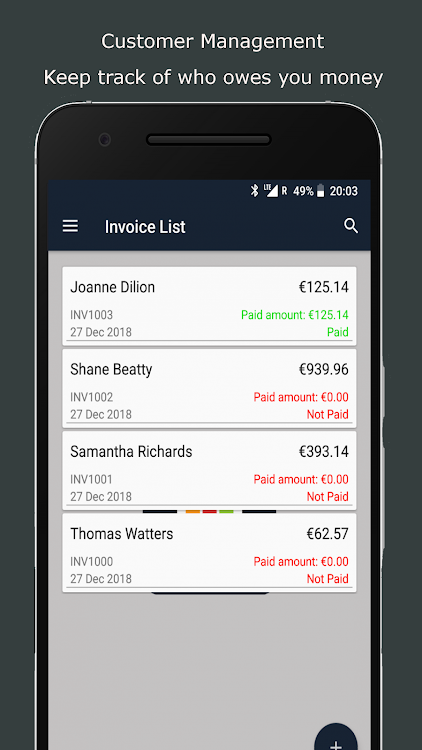 Business Assistant Simple Invoicing App By Flexible Business App Android Apps Appagg