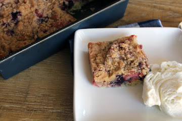 Blueberry Strawberry Buckle Recipe