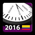 Calendario 2016 Colombia icon