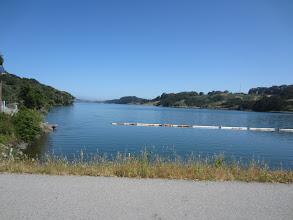 Photo: San Andreas Reservoir from the dam