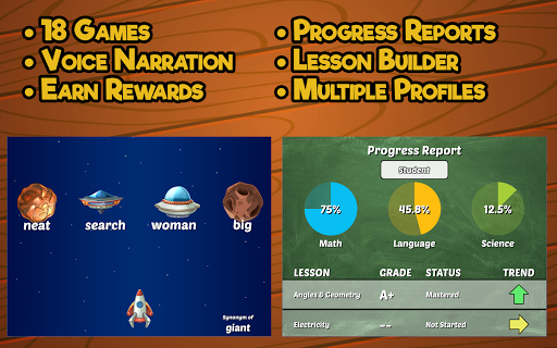 Fourth Grade Learning Games 5.0 screenshots 5