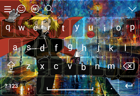 Keyboard for Edward Elric - náhled