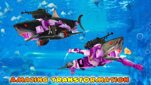 Shark Robot Transformation - Robot Shark Games 1.1 screenshots 7