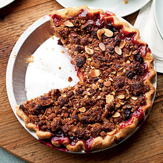 Stone Fruit Pie with Almond Streusel