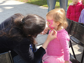 Photo: On April 9, 2011 The Graduate Program in Educational Theatre at The City College of New York hosted Family Arts Day on the North Quad - fun for all ages! Graduate Candidates facilitated activities in mask making, storytelling, sing a - longs, face painting, physical theatre, and a live performance while those in the Harlem community enjoyed!