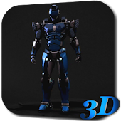 Robot 3D Live Wallpaper