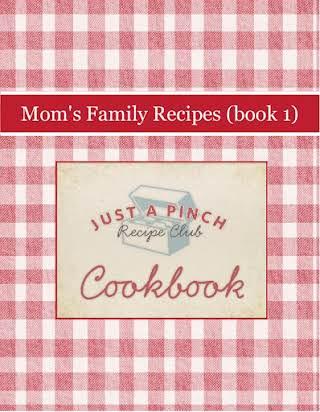 Mom's Family Recipes (book 1)