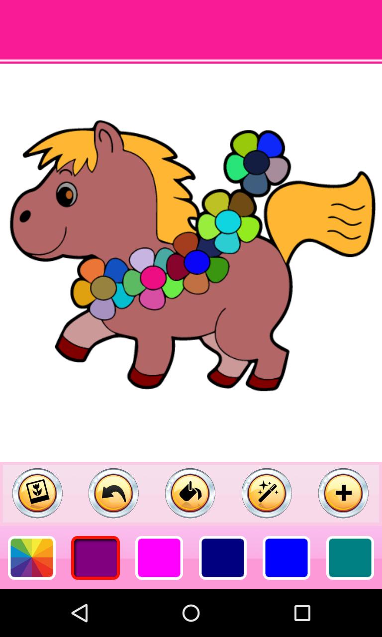 Скриншот Coloring Book - Animals